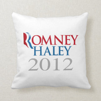ROMNEY HALEY 2012.png Pillow