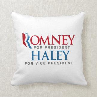 ROMNEY HALEY FOR VP LOGO.png Pillow