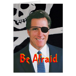 Romney Halloween Card