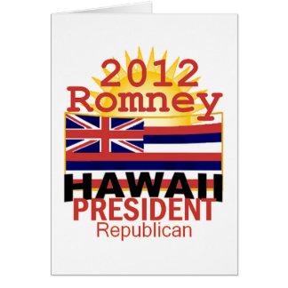 Romney HAWAII Card