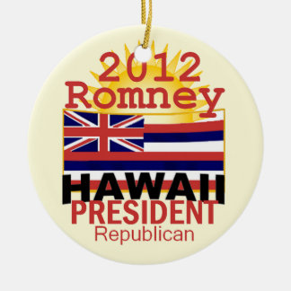 ROMNEY HAWAII CHRISTMAS ORNAMENTS