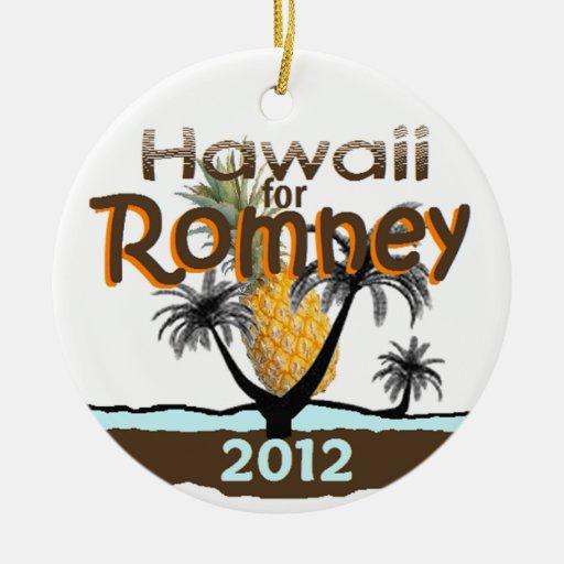 ROMNEY HAWAII ORNAMENTS