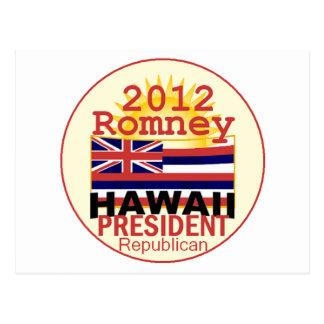 Romney HAWAII Postcard