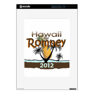 Romney HAWAII Skin For iPad