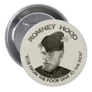 Romney Hood 2012 3 Inch Round Button