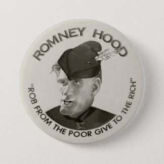 Romney Hood 2012 Button