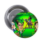 Romney Hood Forest 2 Inch Round Button