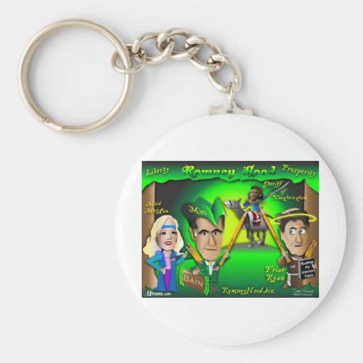 Romney Hood Forest Key Chains