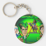 Romney Hood Forest Keychains