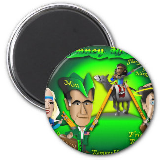 Romney Hood Forest 2 Inch Round Magnet
