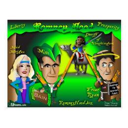 Romney Hood Forest Postcard