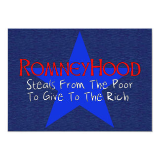 Romney Hood Personalized Announcements