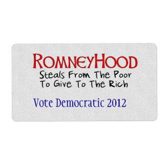 Romney Hood Label