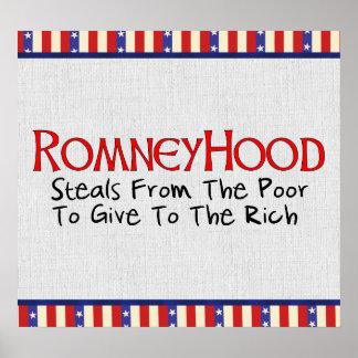 Romney Hood Poster