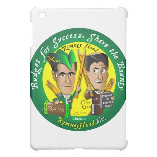 Romney Hood Reduce Deficits iPad Mini Cover