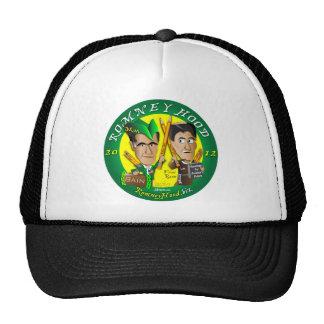 Romney Hood Reduce Deficits Trucker Hat