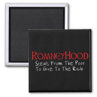 Romney Hood Refrigerator Magnets