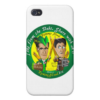 Romney Hood Take From The Debt iPhone 4 Cover