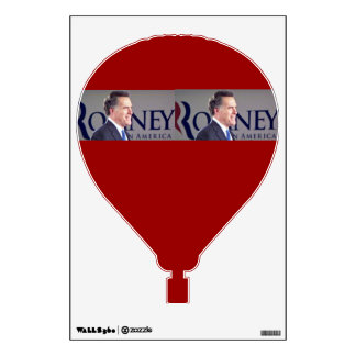 Romney Hot Air Balloon Wall Decal