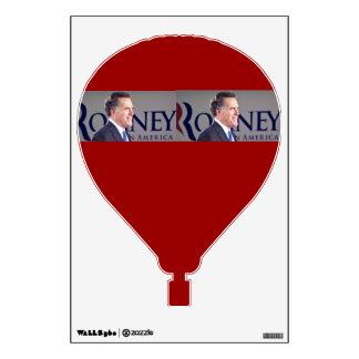 Romney Hot Air Balloon Wall Decal