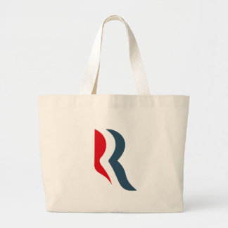 Romney icon canvas bags
