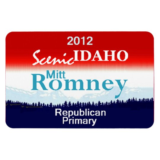 Romney IDAHO Magnet