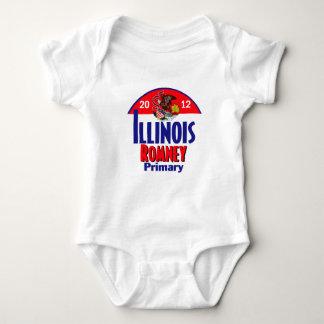 Romney ILLINOIS Baby Bodysuit