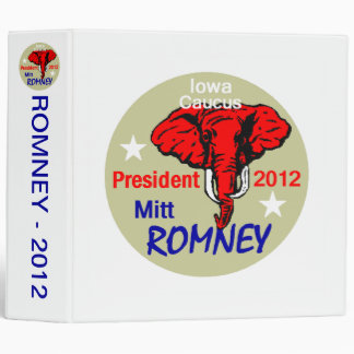ROMNEY Iowa Avery Binder