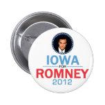 Romney Iowa Button