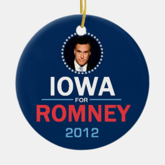 Romney Iowa Ornament