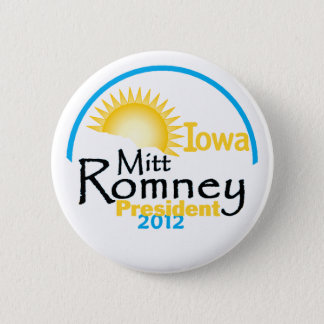 Romney IOWA Pinback Button