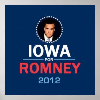 Romney Iowa POSTER Print
