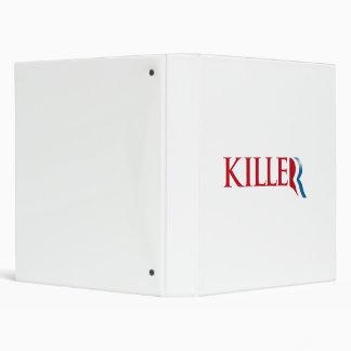 Romney is a Killer.png Vinyl Binders