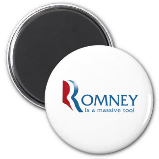 Romney is a massive tool 2 inch round magnet