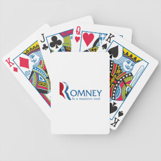 Romney is a massive tool card decks