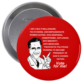 Romney is a multi-millionaire - png pin
