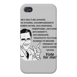Romney is a multi-millionaire.png covers for iPhone 4