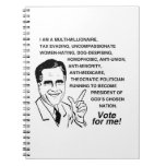 Romney is a multi-millionaire.png spiral notebooks