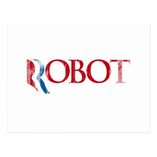 Romney is a Robot.png Postcard