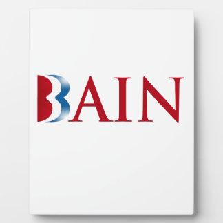 ROMNEY IS BAIN.png Photo Plaque