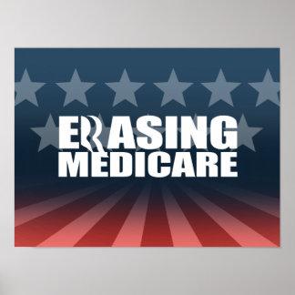 ROMNEY IS ERASING MEDICARE.png Poster