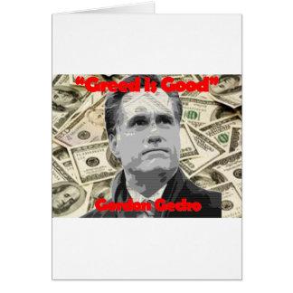 Romney is Gecko Card