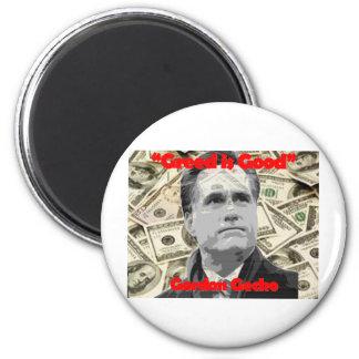 Romney is Gecko Fridge Magnets