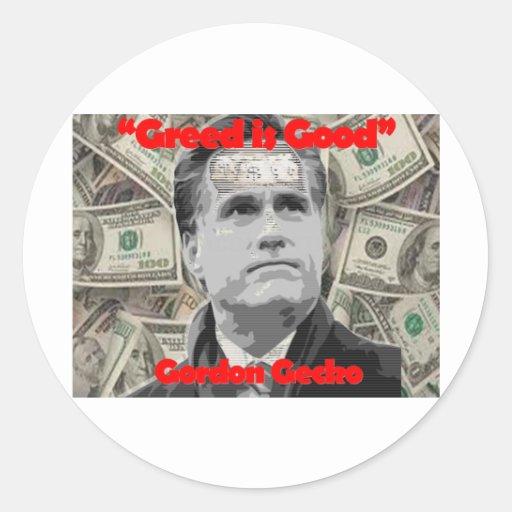Romney is Gecko Stickers
