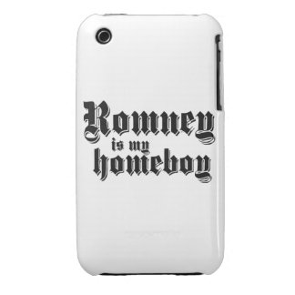 ROMNEY IS MY HOMEBOY iPhone 3 CASE