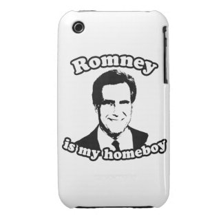 ROMNEY IS MY HOMEBOY Case-Mate iPhone 3 CASES
