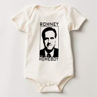 Romney is my Homeboy.png Baby Bodysuit