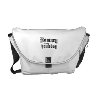 ROMNEY IS MY HOMEBOY.png Messenger Bags