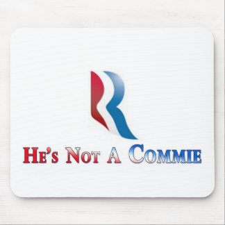 Romney is not a Commie Mouse Pad