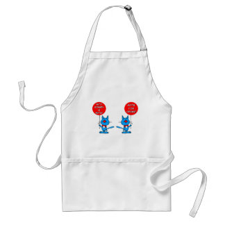 Romney is nuts vote for Obama Adult Apron